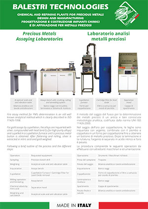 Precious metals assaying laboratories